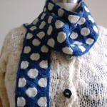 Handwoven scarf by Kumi Stoddart